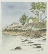 """""""Pointe du Passage"""" - Saint-Pabu 2014 - 23x29 cm"""